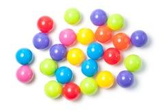 Plastik farbige Kugeln Lizenzfreie Stockfotografie