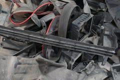 Plastikautoteile für bereiten auf Stockbilder
