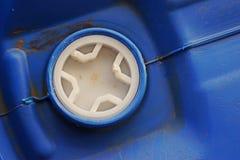 Plastikbehälterkappe, Sicherheitsverschluß für 200 Liter Behälter für liqudid Chemikalie Lizenzfreie Stockbilder