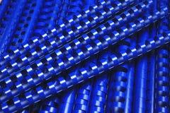 Plastikbinderücken Lizenzfreie Stockbilder