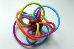 Plastikbissspielzeug für Baby stockfoto