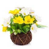 Plastikblume für Dekoration lizenzfreie stockbilder