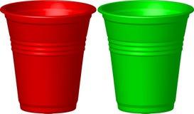 Plastikcup Lizenzfreies Stockbild