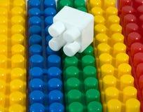 Plastikerbauer Lizenzfreies Stockfoto