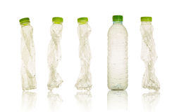 Plastikflasche Stockbild