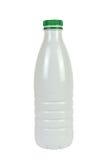 Plastikflasche für Milch Lizenzfreies Stockbild