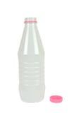 Plastikflasche getrennt Lizenzfreie Stockfotografie