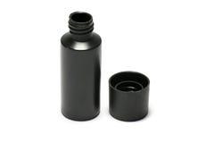 Plastikflasche Körperpflege- und Schönheitsprodukt-/-studiophotographie der Plastikflasche für das Shampoo - lokalisiert auf weiß stockfotografie