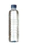 Plastikflasche voll Wasser Stockfotografie