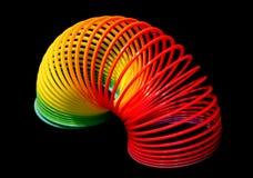 Plastikfrühlings-Spielzeug Stockbild