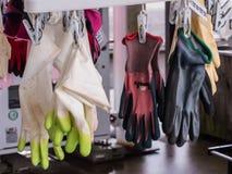 Plastikhandschuh Lizenzfreie Stockbilder