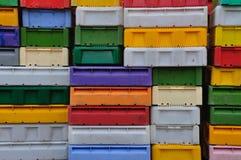 Plastikkästen Lizenzfreie Stockbilder