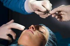 plastikkirurgi Royaltyfri Foto