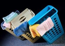 Plastikkorb Lizenzfreies Stockfoto