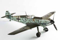 Plastikmodell zweiten wolrd Kampfflugzeugs stockfoto