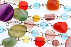 Plastikowa biżuteria zdjęcia stock