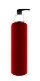 Plastikowa butelka mydlany produkt zdjęcia stock