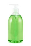 Plastikowa butelka odizolowywająca ciekły mydło obraz royalty free