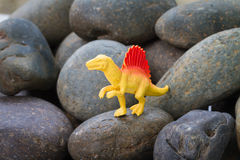 Plastikowa dinosaur zabawka Fotografia Stock
