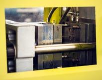 Plastikowa extruder maszyna z lejnią fotografia royalty free