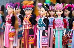 Plastikowa lali dziewczyny sztuki zabawka Fotografia Stock