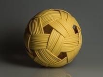 Plastikowa rattan piłka Zdjęcie Stock