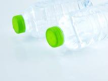 Plastikowe butelki wody zakończenie up Obraz Royalty Free
