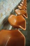 plastikowe krzesło opróżniają Obrazy Royalty Free