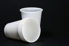 plastikowe kubki Zdjęcie Royalty Free