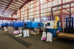Plastikowe Wtryskowego formierstwa maszyny Obrazy Stock