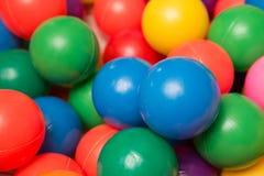 plastikowe zabawki kolorowa ball Fotografia Stock