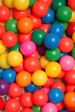 plastikowe zabawki kolorowa ball Obrazy Stock