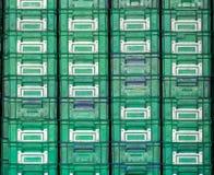 Plastikowego pudełka umieszczający ordynans fotografia royalty free