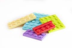 Plastikowi elementy Zdjęcia Stock