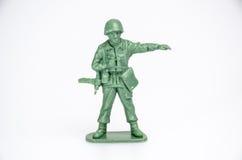 Plastikowi mini zabawkarscy żołnierze Zdjęcia Royalty Free