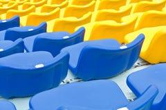 plastikowi siedzenia Zdjęcie Stock
