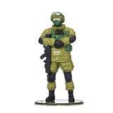 Plastikowy żołnierz, militarna amunicja obrazy stock