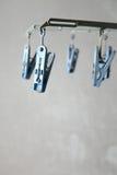 Plastikowy clothespin Zdjęcie Stock