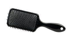 Plastikowy hairbrush Zdjęcia Royalty Free