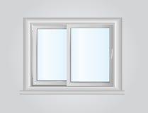 Plastikowy okno Zdjęcia Royalty Free