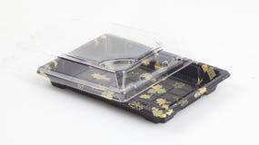 Plastikowy suszi pakować Obraz Royalty Free