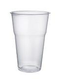 Plastikowy szkło obrazy stock