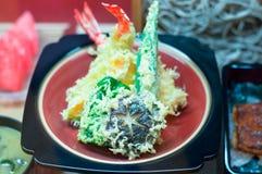 plastikowy tempura fotografia stock