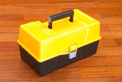Plastikowy toolbox Obrazy Stock