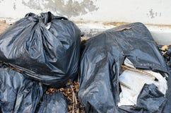 plastikowy torba na śmiecie Obraz Royalty Free