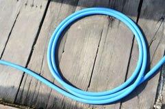 Plastikowy wąż elastyczny Zdjęcia Royalty Free