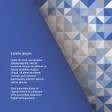 Plastikowy wektoru kwadrata szablon z przestrzenią dla twój zawartości. Col Ilustracja Wektor