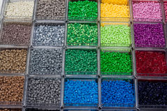 Plastikpolymer Stockbilder