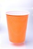 Plastikschale Stockfoto
