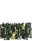 Plastiksoldat Lizenzfreies Stockfoto